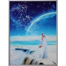 """Картина Swarovski """"Небесный водолей"""""""