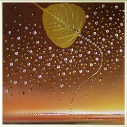 "Картина с кристалами Swarovski ""Осень 1"""