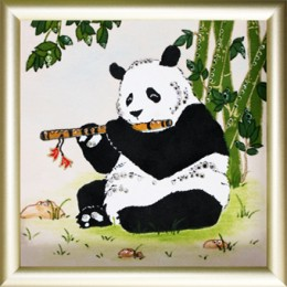 """Картина Swarovski """"Панда"""""""
