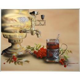 """Картина Swarovski """"Приятного чаепития"""""""