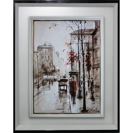 "Картина Swarovski ""Прогулка по Лондону"""