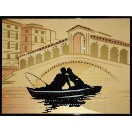 "Картина Swarovski ""Романтическое путешествие"""