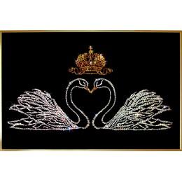 """Картина Swarovski """"Свадебное поздравление"""""""