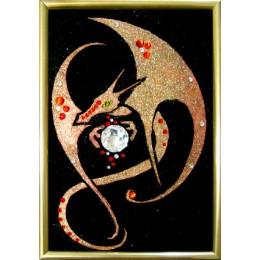 """Картина Swarovski """"Сердце Дракона"""""""