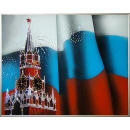 """Картина с кристалами Сваровски """"Спасская Башня"""""""