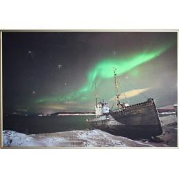 """Картина с кристалами Swarovski """"Северное сияние"""""""