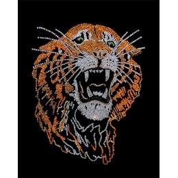 "Картина с кристалами Swarovski ""Тигр"""