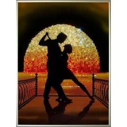 "Картина Swarovski ""Танго на пирсе"""