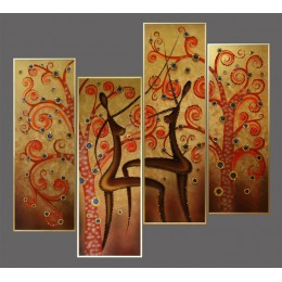 "Картина Swarovski ""Танец солнца"""
