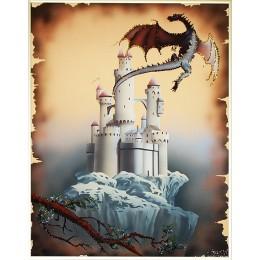 "Картина Swarovski ""Век драконов"""