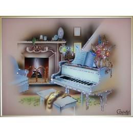 "Картина Swarovski ""Вечер музыки"""