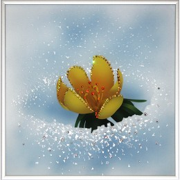 "Картина Swarovski ""Вестник весны"""