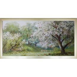 """Картина Swarovski """"Весенний сад"""""""