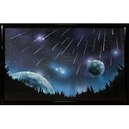 "Картина с кристалами Swarovski ""Звездопад"""