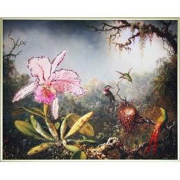 """Картина Swarovski """"Загадочный лес"""""""