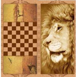 Нарды оригинальные Лев