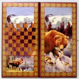 Нарды оригинальные Медведь