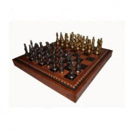 Шахматы «Микельанджело» олово, бронза