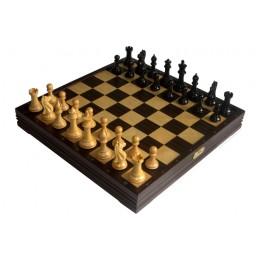 Шахматы классические большие деревянные утяжеленные 7802