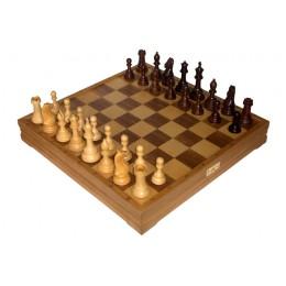 Шахматы классические большие деревянные утяжеленные