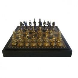 Шахматы «Король Артур» бронза, олово