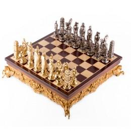 Шахматы «Цезарь» бронза, олово