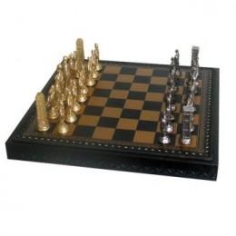 Шахматы «Рим» бронза, олово