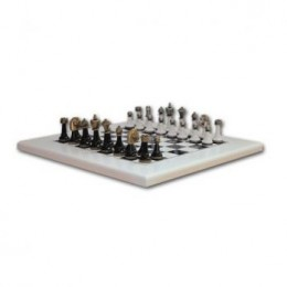 Шахматы классические «Bianco-nero», бронза, олово