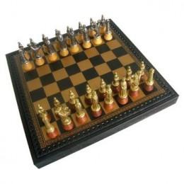 Шахматы «Lotario» олово, бронза