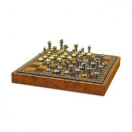 Шахматы «Stauntion» бронза, олово