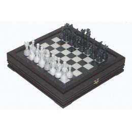 Шахматы каменные малые изысканные классические