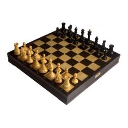 Шахматы классические большие деревянные утяжеленные 7808