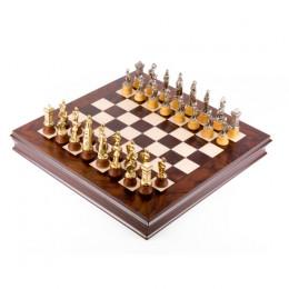 Шахматы «Мария Стюарт», бронза,олово