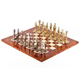 Шахматы «Ренессанс» из олова и бронзы