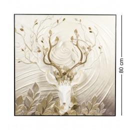 """ART-122 Панно """"Благородный олень"""""""
