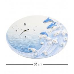"""ART-318 Часы """"Дельфины на гребне волны"""""""