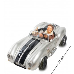 "FO-85082 Автомобиль ""Shelby Cobra 427 SC Silver. Forchino"""