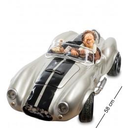 """FO-85083 Автомобиль бол. """"Shelby Cobra 427 SC Silver. Forchino"""""""