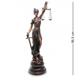 "GA-36 Статуэтка ""Фемида - Богиня правосудия"""