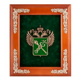 "ПК- 55 Ключница ""Эмблема Таможни"" 29х33"