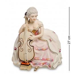 """SV- 88 Статуэтка """"Девушка с виолончелью"""" (Sabadin Vittorio)"""