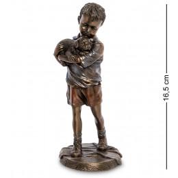 """WS-991 Статуэтка """"Мальчик со щенком"""""""